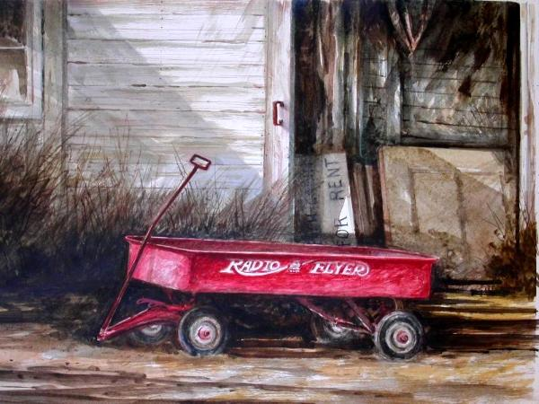 """Grandpa's Repair""  Sold"