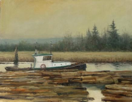 """Tugboat Alley""  Sold"