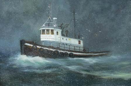 """Snowy Seas""  Sold"
