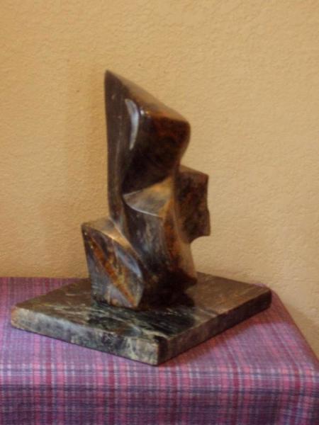 Soapstone sculpture jack e dorsey of camano island