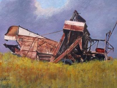 Harvester At Rest