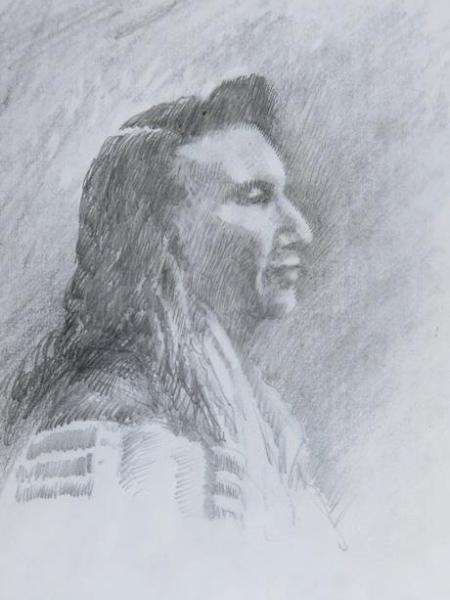 Sketch-Chief Joseph